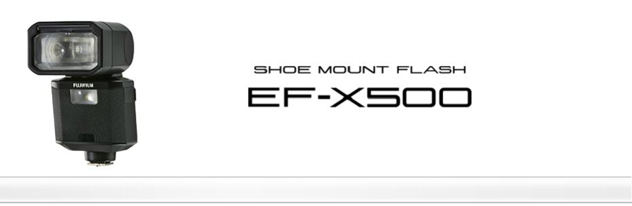 overview_Shoe Mount Flash EF-X500